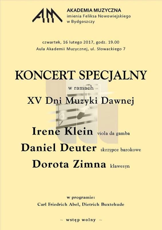 XV Dni Muzyki Dawnej - koncert specjalny