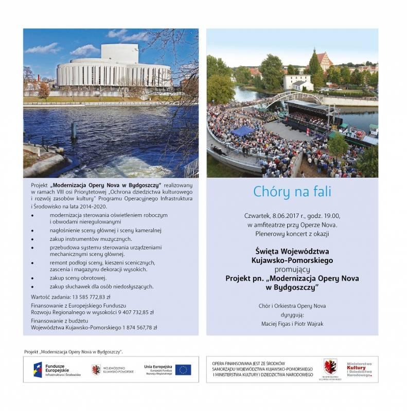 Święto Województwa Kujawsko-Pomorskiego: Koncert Chóry na fali